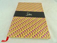 new Authentic CHRISTIAN LOUBOUTIN A5 notebook journal perfect gift