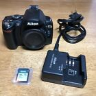 Nikon D40X 10.2MP Digital SLR Camera Body Only With Charger And 32GB Card