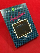 Acorn Electron Arcadians game Cassette Acornsoft