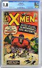 S217. X MEN #4 Marvel CGC 1.8 GD (1964) 1st App. of SCARLET WITCH & QUICKSILVER