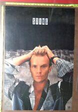 "Sting of the Police,24""x36"", Poster,Very Rare Original record company promo,"