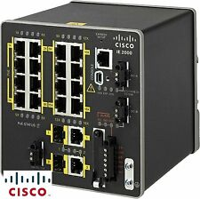 NEW Cisco IE-2000-16TC-L 20 Ports Industrial Ethernet Switch