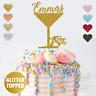 Personalised Custom Martini Glass Wine Prosecco Birthday Cake Topper