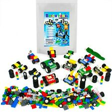 [459 Pieces] 100% Compatible Wheels, Tires, and Axles Set by Brickyard - Incl...
