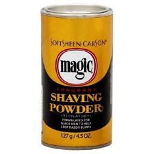 Magic Fragrant Shaving Powder, 4.5 Ounce Cans (Pack of 12)