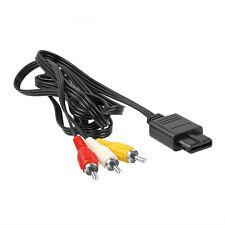 AV/TV Video Audio Chinch Kabel für Super Nintendo SNES SFC N64 64 GameCube NGC