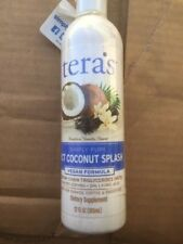 Tera's Whey MCT Oil Coconut Splash Emulsion 12 Ounce Vegan For Coffee (NEW)
