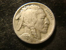 1920-S  F VF Minus Bold Buffalo Nickel Strong Date Devices NY