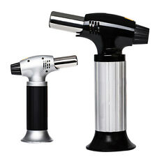 Hot Professional Culinary Butane Torch Creme Brulee Picnic Kitchen Blow Food