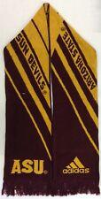 NCAA Arizona State Sun Devils Adidas Winter Knit Fringe Scarf Style # S618Z NEW!