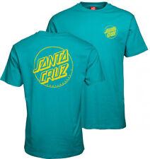 Santa Cruz Tee - Outline Dot - Skateboard T Shirt - Large