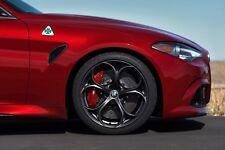 ALFA Romeo Giulia Quadrifoglio originale in carbonio brake kit front 390x36 OEM NEW