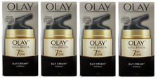 Olay Total Effects 7 in One, Anti Aging Day Cream, Normal, 1.7 oz (Pack of 4)
