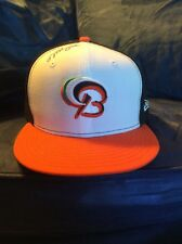 Bowie Baysox Orioles Baseball Cap/Hat Sz 7 3/8 Autographed by Vance Worley