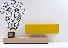 Wall Art Decor Vinyl Sticker Mural Decal Zentangle Masks Totems Aztec Fi1098
