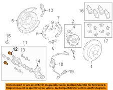 TOYOTA OEM 12-17 Prius V Brake-Rear-Caliper Assembly Mount Bolt 90016AA604