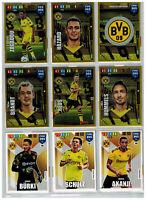 Borussia Dortmund Fifa 365 Adrenalyn XL 2020 Panini Team Set 18 Karten komplett