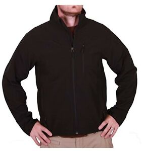 Kirkland Signature Men's 4-Way Stretch Soft Shell Jacket (Brown Heather, M)