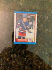 1989-90 O-PEE-CHEE Hockey #136 BRIAN LEETCH ROOKIE...........NM-MT+