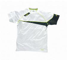 Gill Collezione Race T-Shirt bianca/Lime Taglia Extra-Small - Nuovo in svendita