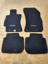 AUTO OEM SUBARU OUTBACK MAT SET 4 PIECES USED IN EXCELLENT CONDITION BLACK GRAY