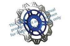 Apto Yamaha Fz6 S2- Naked / sin ABS /4 07>09 EBC VR Disco de Freno Azul Buje