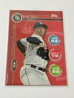 2020 Topps Baseball Topps Attax Impact Player - Blake Snell - Tampa Bay Rays