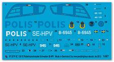 Peddinghaus 2579 1/87 EC 135 p2 helicóptero de la policía Suecia se-VPH