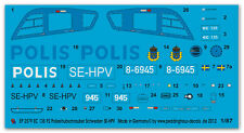 Peddinghaus 2579 1/87 Ec 135 P2 Police de Suède Se-Hpv