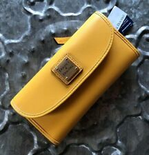 DOONEY & BOURKE~SMOOTH LEATHER Continental Clutch Wallet~GORGEOUS DANDELION~NWT!