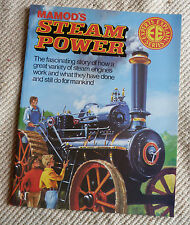 Mamod's Steam Power Book In Immaculate Unread Condition