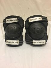 Rollerblade Jr Youth Black Elbow Pads Youth Osfa Vintage Authentic