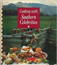 COOKING WITH SOUTHERN CELEBRITIES 1992 COOK BOOK ETHNIC & GOURMET RECIPES & BIOS