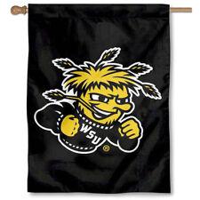 Wichita State WSU Shockers House and Banner Flag