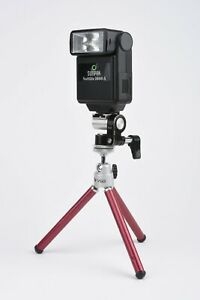 EXC++ FLASH MOUNT ADAPTER TO LIGHT STAND OR TRIPOD, NICE CONDITION, ALL METAL