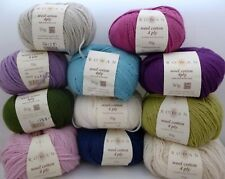 Rowan Wool Cotton 4 Ply x 50g ~ Choose Colour ~ 50% Wool, 50% Cotton