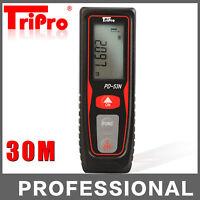 30m Digital Laser Long Distance Meter Measurer Area Volume Range Finder Measure
