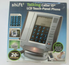 Shift3  Phone Talking Caller ID LCD Touch-Panel Land Line  20+ Features alarm