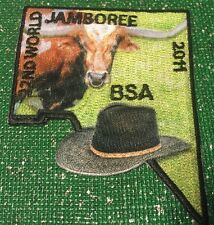 2011 World Scout Jamboree USA BSA Contingent Section Longhorn Cowboy hat