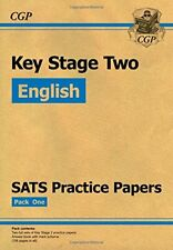 KS2 English SATs Practice Papers - Set 1 by CGP Books Book The Cheap Fast Free