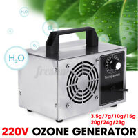 220V Ozone Generator Commercial Long Life Timing Purifier Air Cleaner