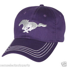 OEM NEW Ford Purple Pony Mustang Ladies' Sequin Hat Cap