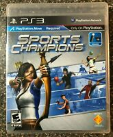 Sports Champions - PS3 PlayStation 3 Move - Clean & Tested Working - Free Ship