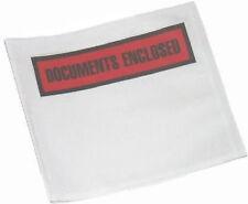 100 A6 Printed Document Enclosed Envelopes Free P&P