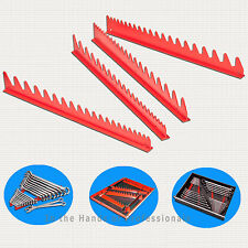 ERNST Mfg 6014 RD Holds 40 Wrench Rail Red Organizers < NEW