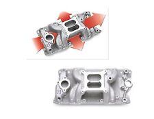ED7501  Edelbrock RPM Air-Gap Manifold fits Small Block Chev  283 302 350 - 400