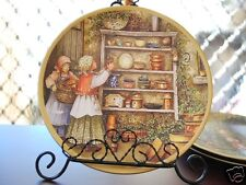 Ceramic Decoration Plate French Country Life 20.5cm A