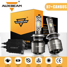 AUXBEAM H7 CANBUS LED Headlight High Beam fit for VW Golf 99-06 /Touareg 04-2010