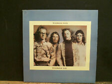 WISHBONE ASH  Wishbone Four  LP   UK 1st issue  Black label   w/ poster