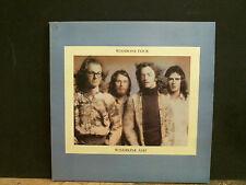 WISHBONE ASH  Wishbone Four  LP   UK 1st issue  Black label   w/ poster